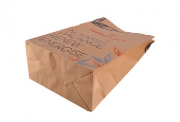 block bottom paper bag