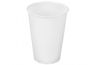 Plastic cups (white)
