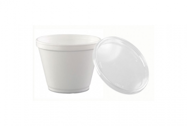 Foam Cup with Lid